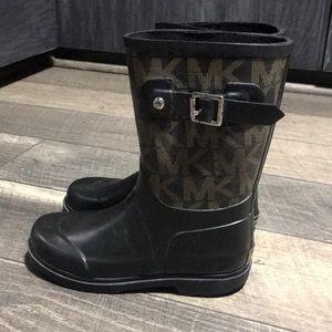 Authentic Michael Kors Signature rain boots girl 1